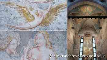 Tornano a splendere gli affreschi nel duomo medioevale di Spilimbergo - Il Messaggero Veneto