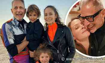 Jeff Goldblum and family mark Native American Heritage Day