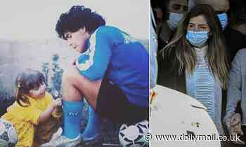 Diego Maradona's daughter Dalma, 33, pays emotional tribute to Argentina legend