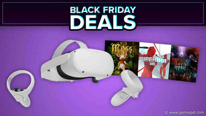 Oculus Quest 2 Black Friday Sale: Get Superhot VR, Moss, And Tetris Effect For Less