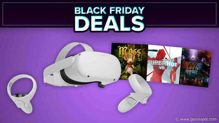 Oculus Quest 2 Black Friday Sale: Get Superhot VR, Moss, And Tetris Effect For Less