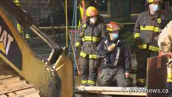 Overnight rescue saves injured Vancouver construction worker