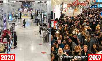 Black Friday NYC: Macy's and Best Buy deserted amid Covid pandemic