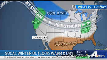 Winter Outlook Suggests California Won't See Much Rain - NBC Southern California