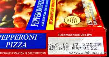 "Standardize food expiration dates. How about ""discard by""? - Los Angeles Times"