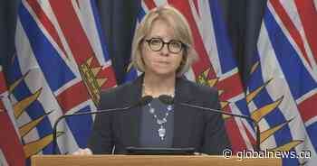B.C. health officials to provide Friday COVID-19 update