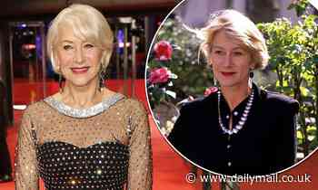 Dame Helen Mirren, 75, says she's 'fine' with looking her age