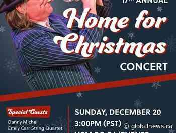 Daniel Lapp's Home for Christmas Online Concert