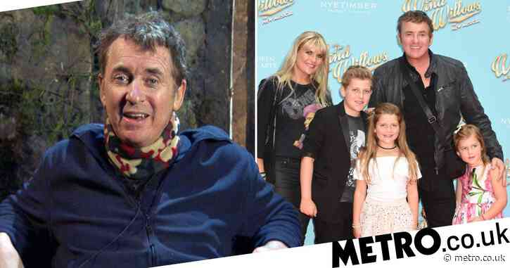 How many children does Shane Richie have and who is he married to?