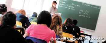 Gaspésie: des jeunes Micmacs manifestent pour retourner à l'école