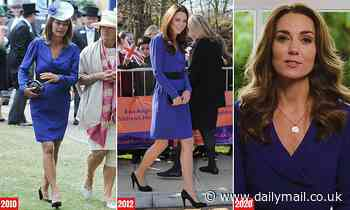 Kate Middleton recycles £139 Reiss dress 'shared' with mother Carole