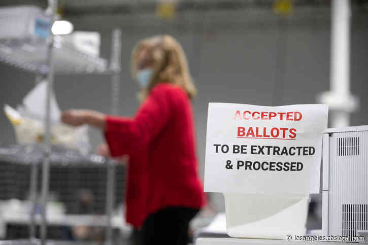 Riverside County Registrar Of Voters On Track To Certify Election Results Even After Employees Test Positive For COVID-19