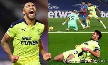 Crystal Palace 0-2 Newcastle: Callum Wilson and Joelinton strike late in snatch-and-grab victory