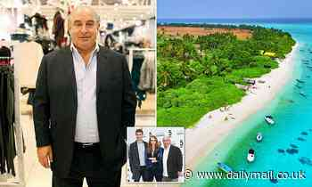 Sir Philip Green is planning a Christmas getaway to a £30,000-a-night island in the Maldives
