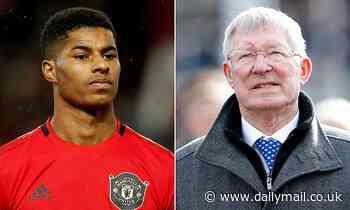 Sir Alex Ferguson praises Marcus Rashford for tackling child food poverty