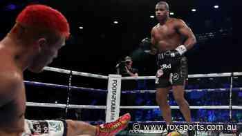Before Tyson fights on Sunday, heavyweight boxing's newest KO machine returns