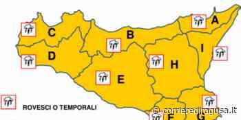 Maltempo con vento e temporali: allerta arancione in Sicilia - CorrierediRagusa.it