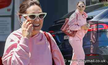 Zoë Foster Blake, 40, sports a tracksuit and accessories worth $2,500 in Melbourne
