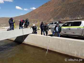 Arequipa: Valle de Tambo recibe descarga inicial de agua de Pasto Grande - El Búho.pe