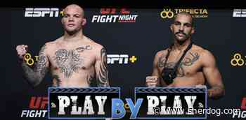UFC on ESPN 18 'Smith vs. Clark' Play-by-Play, Results & Round Scoring