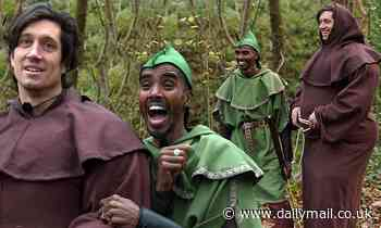 I'm A Celebrity 2020: Mo Farah dons a Robin Hood costume while Vernon Kay transforms into Friar Tuck