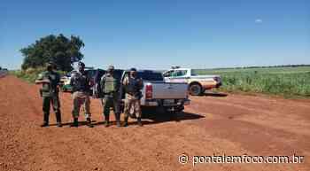 PM de Iturama efetua prisão de homem e apreensão de veículo roubado que ia buscar drogas no Paraguai - Pontal Emfoco