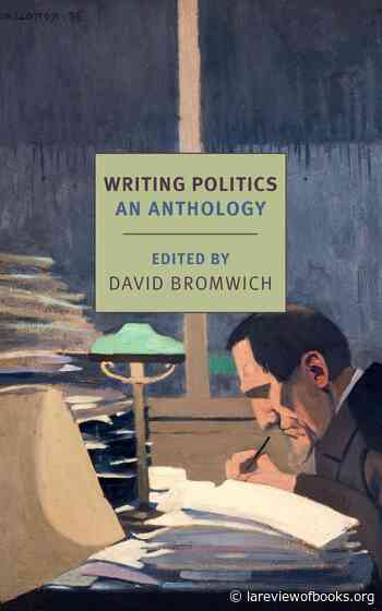 America is a government of words, our <strong>language shaping our politics</strong>. Which is why we need critics like David Bromwich&nbsp;&nbsp;
