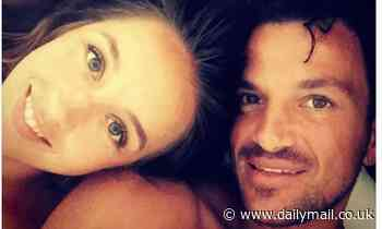 Peter Andre shares loved-up snap with wife Emily after sharing baby plans