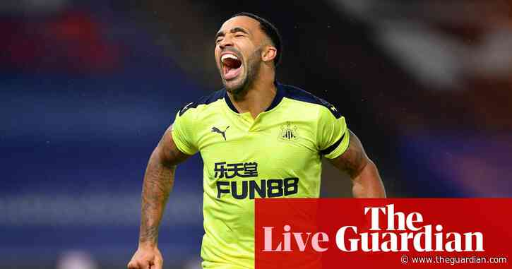 Crystal Palace 0-2 Newcastle United : Premier League – as it happened