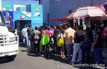 Piden reactivar túnel sanitario en la Central de Abastos Pachuca - Quadratín Hidalgo