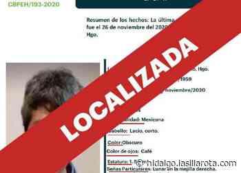 Tras 24 horas, localizan a adulta desaparecida en Pachuca - La Silla Rota