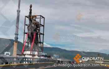 Reubicarán este sábado monumento a Miguel Hidalgo en Pachuca - Quadratín Hidalgo