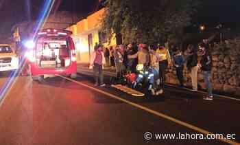 Mujer atropellada en Píllaro : Noticias Tungurahua - La Hora (Ecuador)