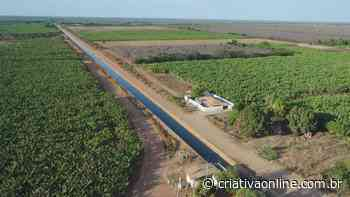 Pavimentação asfáltica em estrada em Bom Jesus da Lapa - Criativa On Line