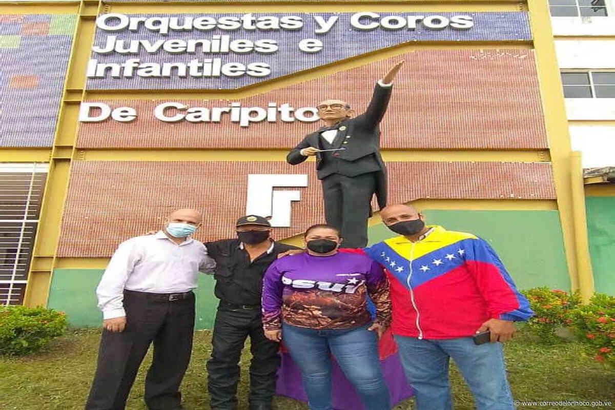 Levantaron estatua de José Antonio Abreu en Caripito | - Correo del Orinoco