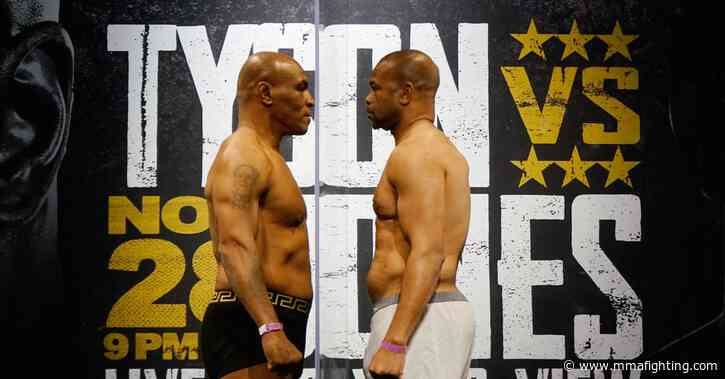 Mike Tyson vs. Roy Jones Jr.: Live round-by-round updates