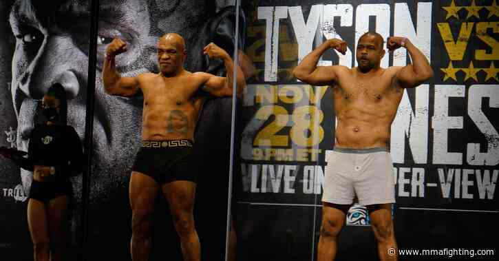 Tyson vs. Jones Jr. Results: Live updates of undercard and main event