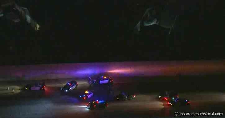 Officer Injured During Traffic Stop Near 91 Freeway, 5 Freeway In Fullerton Area