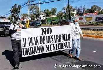 """«Míster Cívico"""" rechaza «excluyente Plan de Desarrollo Urbano» de Naucalpan - Cuestión de Polemica"""