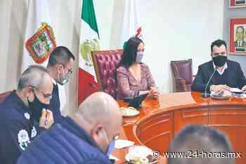 Naucalpan afianza coordinación en seguridad con mesas de paz - 24 HORAS
