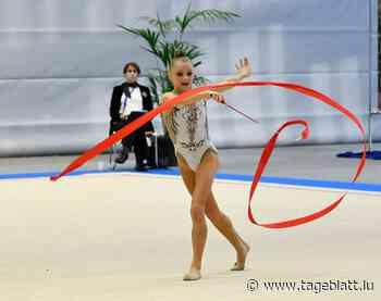 Rhythmische Sportgymnastik / Sophie Turpel mit starkem EM-Auftakt | Tageblatt.lu - Tageblatt online