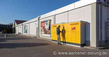 Am Lidl: Neue Packstation der DHL in Simmerath - Aachener Zeitung