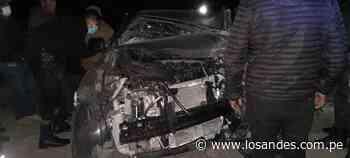 6 personas heridas deja aparatoso accidente vial – Los Andes - Los Andes Perú