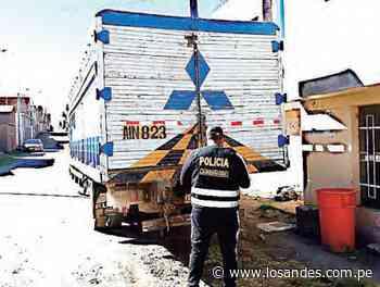 Caen 3 camiones con contrabando – Los Andes - Los Andes Perú