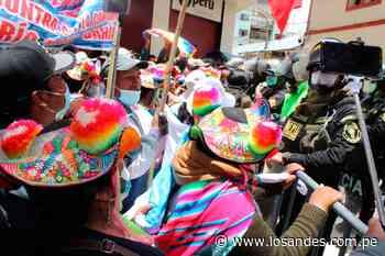 Más de 50 mil acatarán protesta – Los Andes - Los Andes Perú