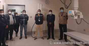 Hospital entrará en funcionamiento – Los Andes - Los Andes Perú
