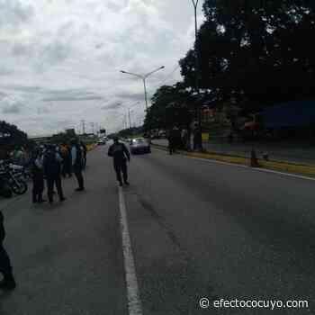 Conductores protestan en Cabudare por fallas en el suministro de combustible #25Nov - Efecto Cocuyo