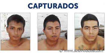 Capturan a pandilleros vinculados a dos homicidios en Atiquizaya, Ahuachapán - Solo Noticias