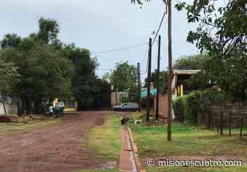 En San Isidro y Santa Rita siguen reclamando alumbrado público - Misiones Cuatro