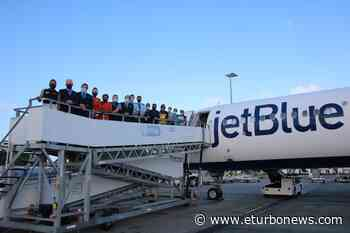 St. Maarten welcomes JetBlue inaugural flight from Newark, New Jersey - eTurboNews | Trends | Travel News